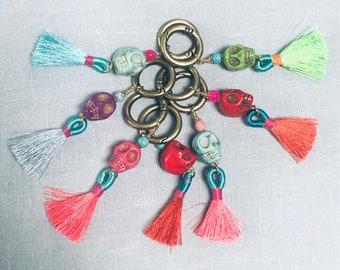 Handbag charm or key ring