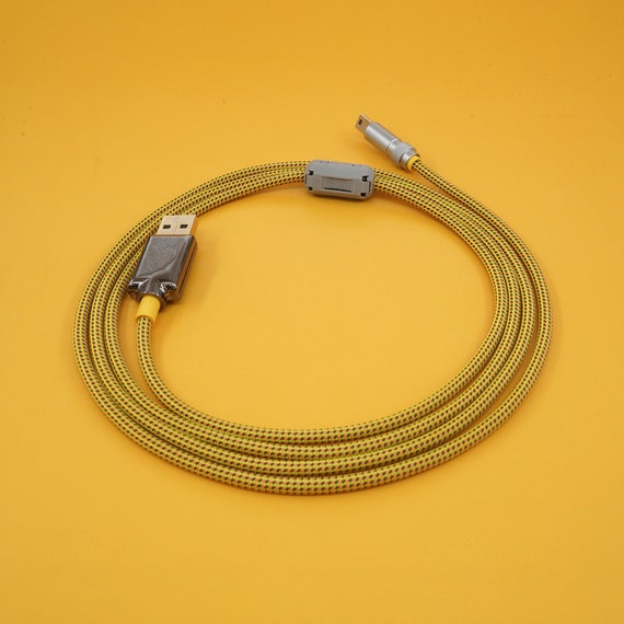 keyboard cable Custom cable Handmade cable Japan 6MM thick cable