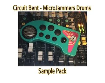 Circuit Bent - Micro Jammers Drums - SAMPLE PACK - Loops - Beats - Breaks - Glitch - Noise
