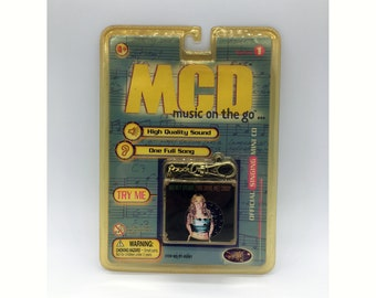 Britney Spears - Official MCD Music On The Go...  (You Drive Me) CRAZY - NOS 1999 Yaboom