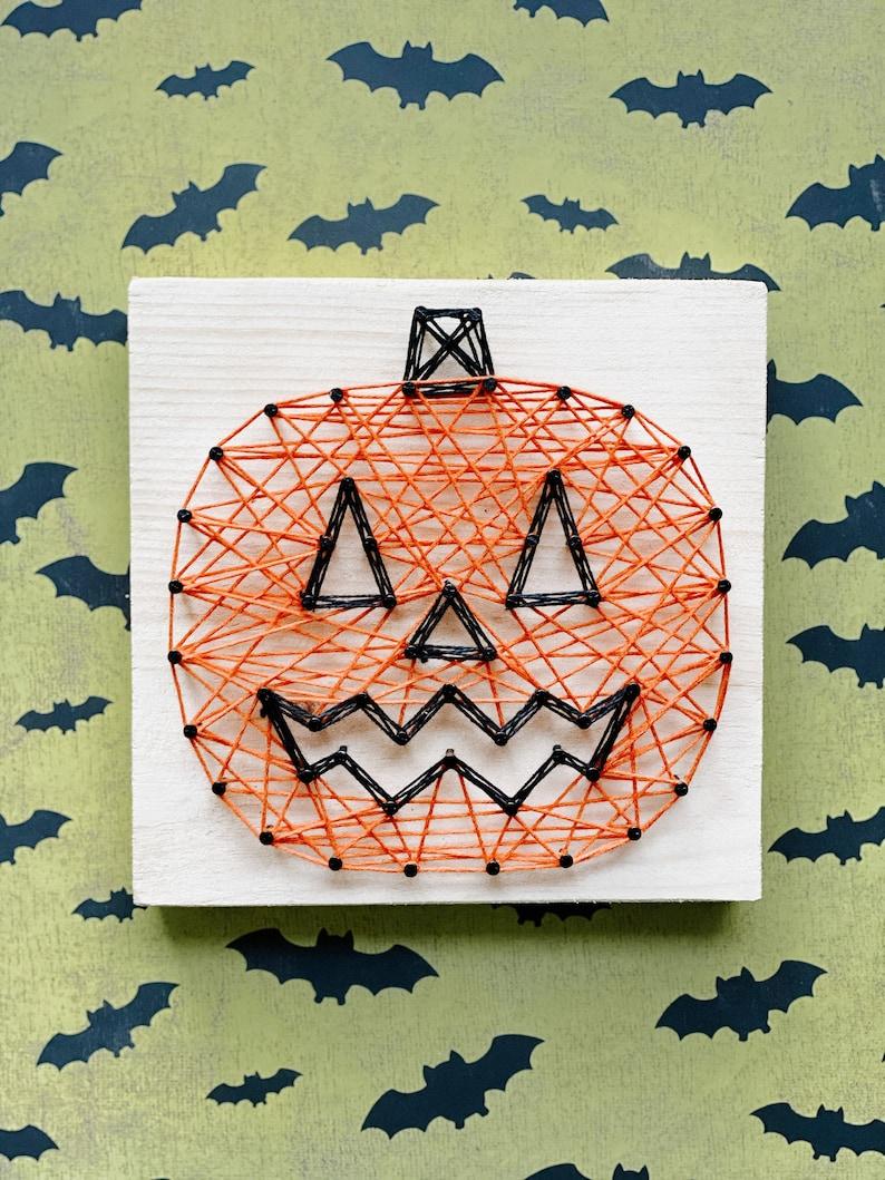 DIY Halloween String Art Kits Various Designs Available  image 0