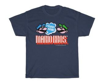 Classic Mario Shirt Roblox Classic Mario Etsy