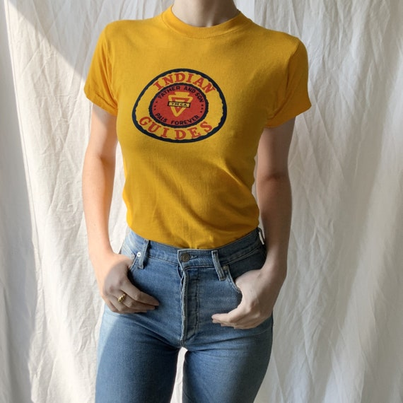 Indian Guides Tee - Vintage Indian Guides - Vintag