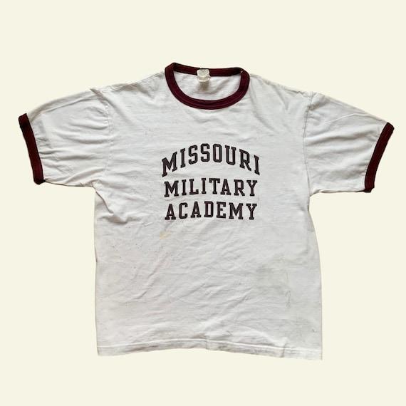 Vintage Missouri Military Tee - vintage military t