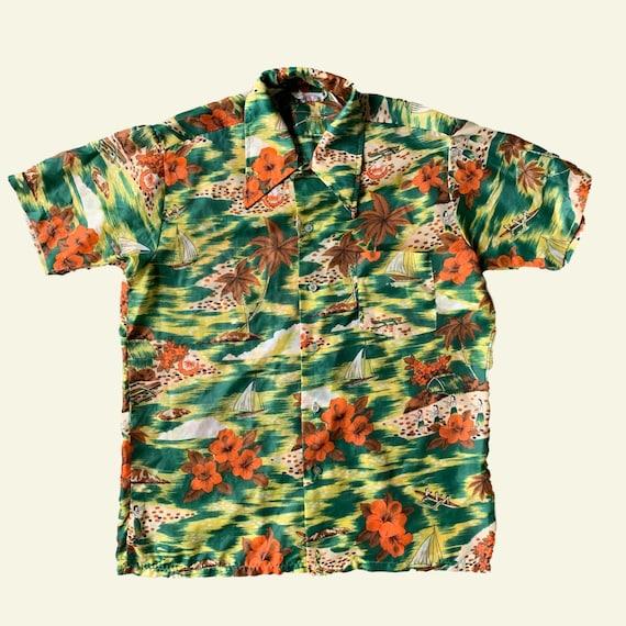 Hawaiian Shirt - vintage hawaiian shirt - vintage