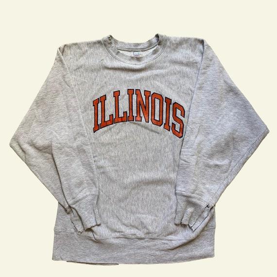 Vintage Illinois sweatshirt - vintage hoodie - vin