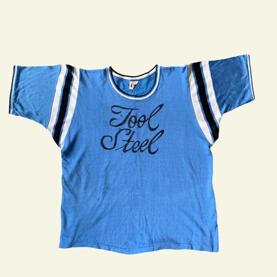 Tool Steel T-Shirt - Vintage - Vintage Clothing -