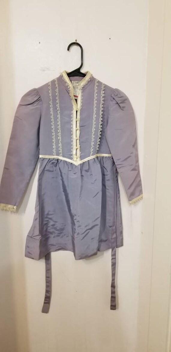 Gunne Sax collectable girls dress, vintage 1970s o