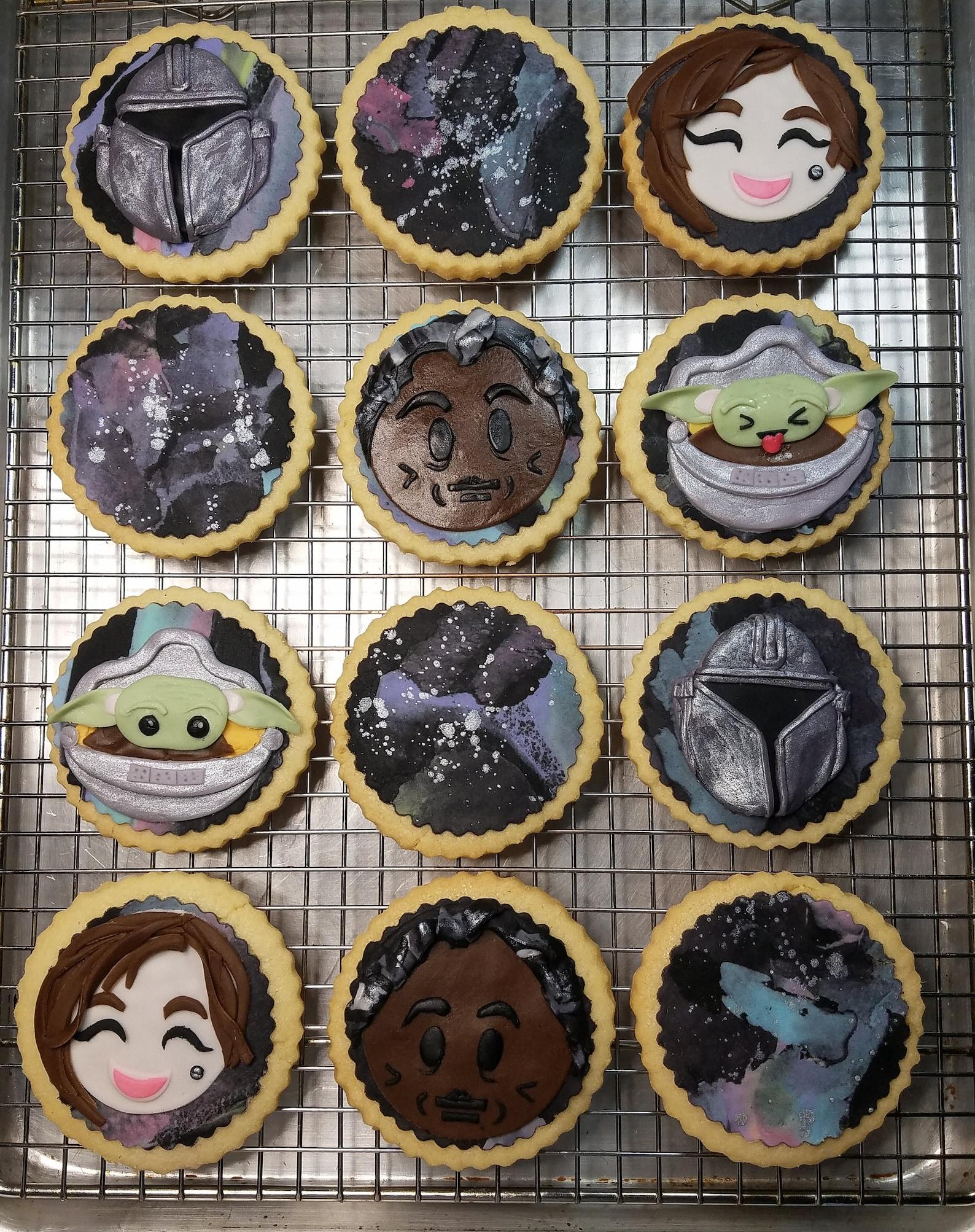 The Mandalorian Sugar Cookies