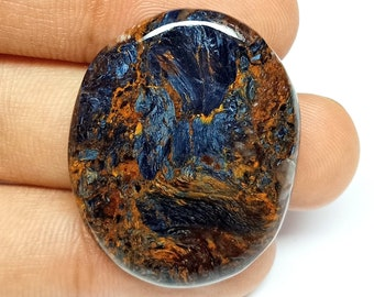 Pietersite,Natural Pietersite,Pietersite Cabochon,Pietersite Gemstone,Cabochon,Jewelry Making,Gemstone,Natural Gemstone 41x28x3.4mm 41 Cts
