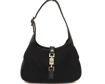60/'s 70/'s Handbag Patent Leather Snakeskin Jackie O Style Marshall Fields and Company Made in France Black Purse Silver Color Metal Hardware