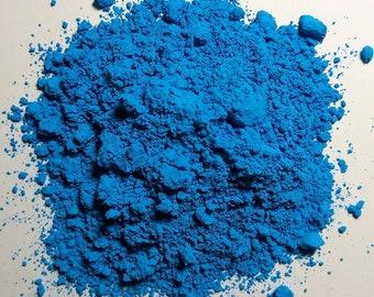 Dry Pigment cobalt green light USSR. Vintage For artwork
