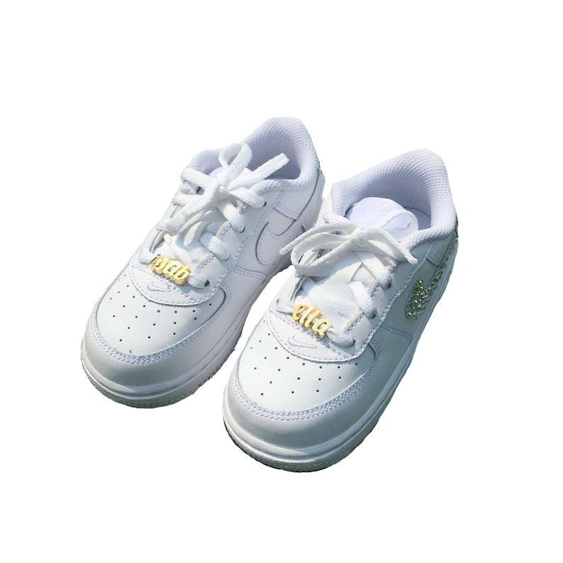 WHITE Custom Shoe Charm