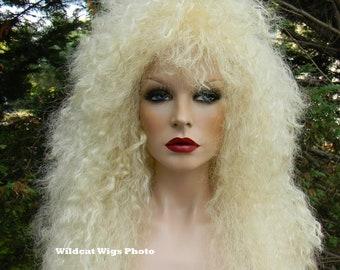 HEAVY METAL Wig .. 80's Stevie Nicks .. Rocker Unisex Wig