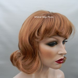 60s Hairstyles for Women and Teens 60s Flip .. Retro Quality Wig .. Color Choice ...Groovy!! Drag $24.99 AT vintagedancer.com