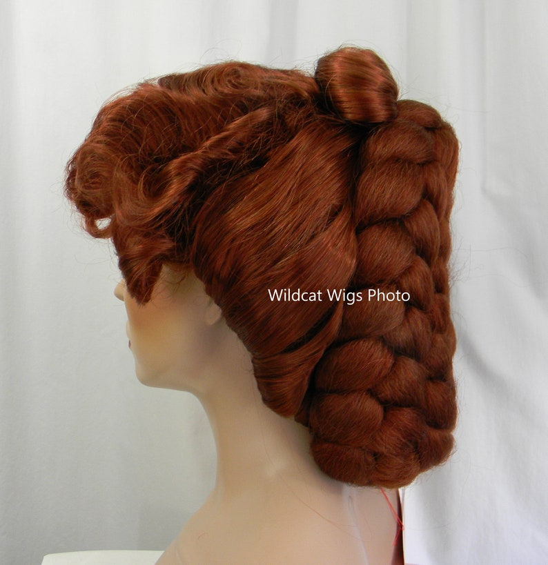 Victorian Wigs, Hair Pieces  | Victorian Hair Jewelry Fabulous Amazing Victorian Wig .. Theater Wig Fox Red Color! $79.99 AT vintagedancer.com