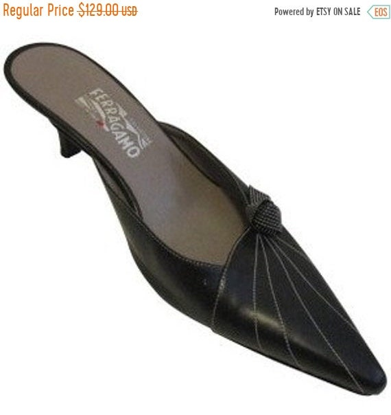 US Women Green-2 38//7.5 B Womens Comfort Pleather Mule Flat Shoes Pointed Toe Footwear- M