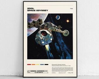 A SPACE ODYSSEY POSTER ART PRINT A3 SIZE GZ2100 2001