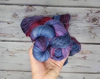 Utah Fiber Collective - Downtown Salt Lake - Fingering Weight Yarn - Superwash Merino Nylon 2-ply Twist