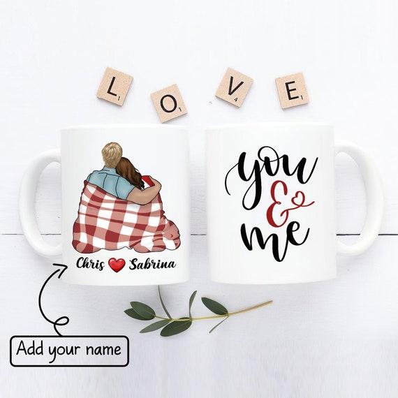 You & Me Mug Valentine's Day Mug Personalized Couple