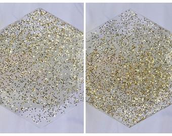 Glitter - Resin Art Coasters