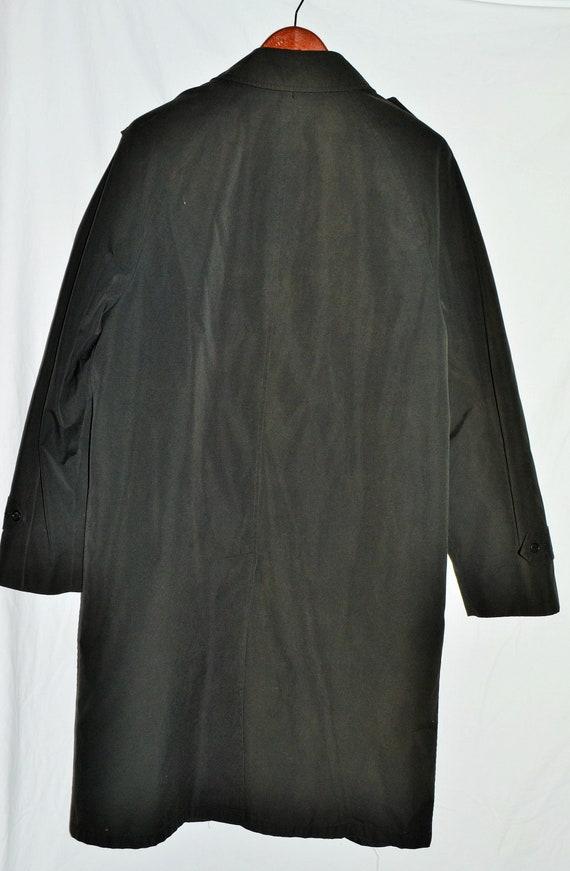 Vintage Black Long Coat - image 10