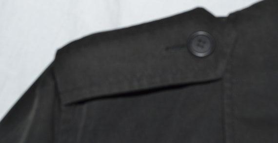 Vintage Black Long Coat - image 3