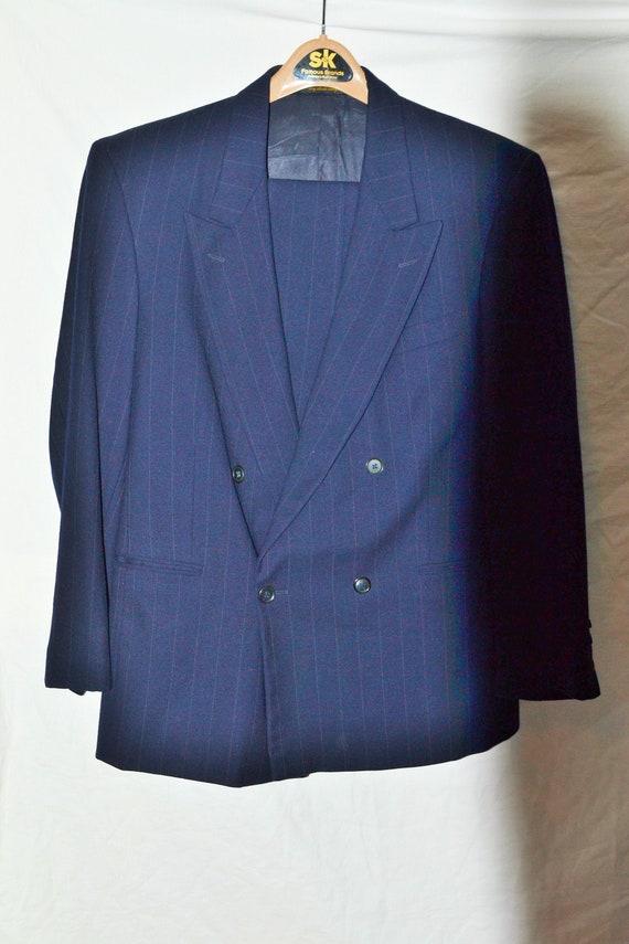 Vintage Striped Suit