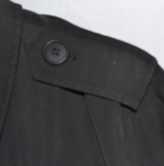 Vintage Black Long Coat - image 2