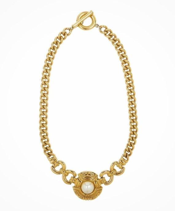 GIVENCHY Vintage Paris New York Choker Necklace