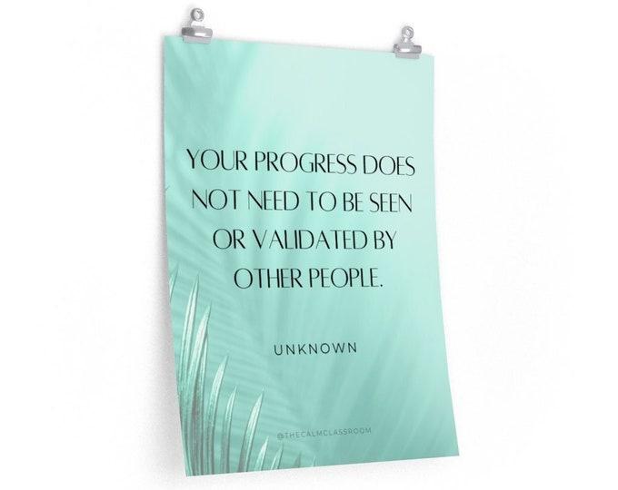 Your Progress Poster