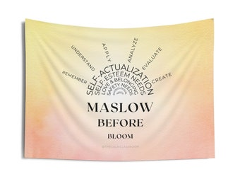 Maslow Before Bloom Tiny Tapestry