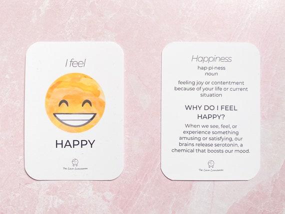 The Emotions Deck (w/ Bonus Worksheets)