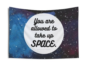 Take Up Space Tiny Tapestry