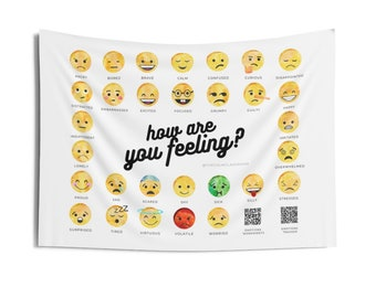 The Emotions Tapestry (w/ Bonus Worksheets) - 2 Sizes Available