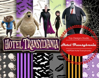 Hotel Transylvania Gift Box Party Favor Decoration Mavis Dracula set of 8