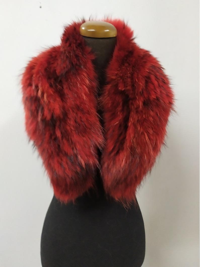 coat winter accessories Finn raccoon high quality fur collar