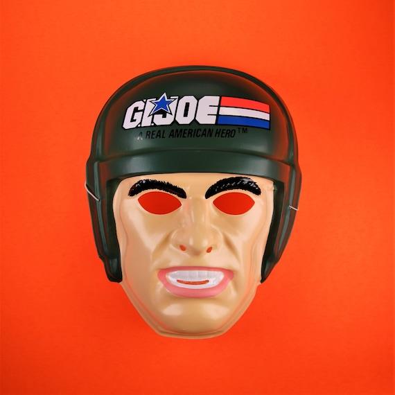 Ben Cooper Halloween Masks.Vintage G I Joe Ben Cooper Halloween Mask Army Soldier Etsy