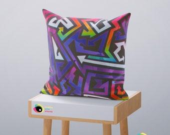 Funky Throw Pillows Etsy