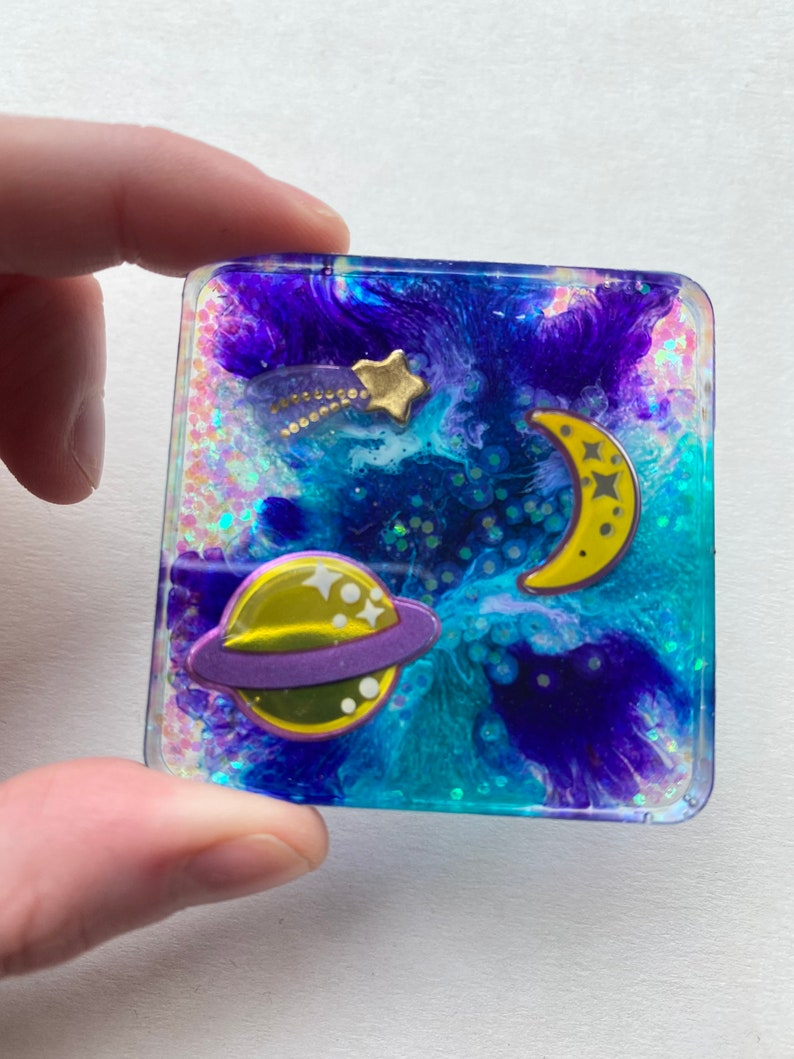 nail art lash tray Outer Space