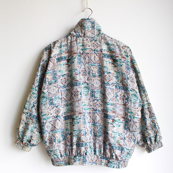Vintage Abstract Jacket, 80's - image 4