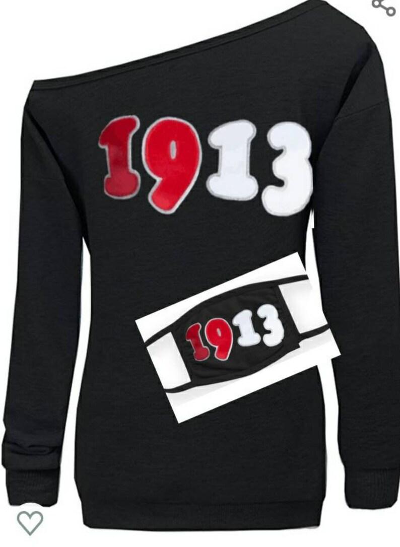 Bold 1913 Grafitti sweatshirts with mask option