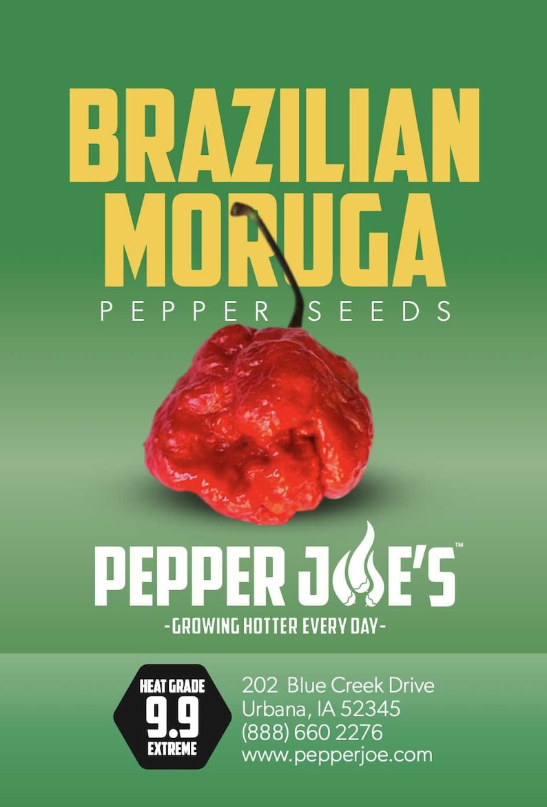 Brazilian Moruga Seeds