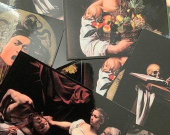 Caravaggio Art Sticker 5 Pack
