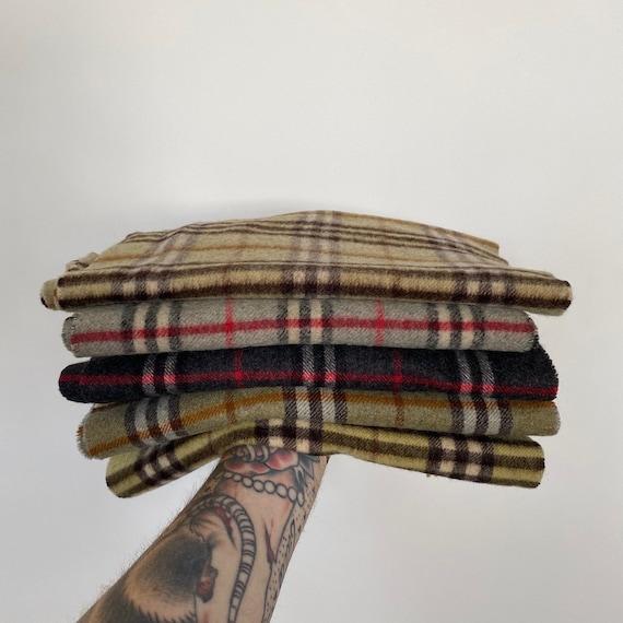 Vintage Burberry's scarves.