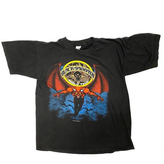 Vintage Black Sabbath 1981 Mob Rules T-shirt.