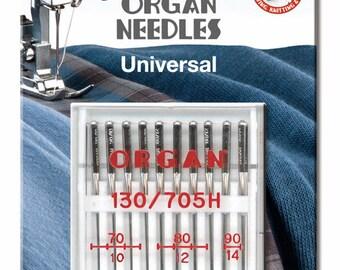 070//090 Universalnadeln Organ 130//705 H REG a10 st