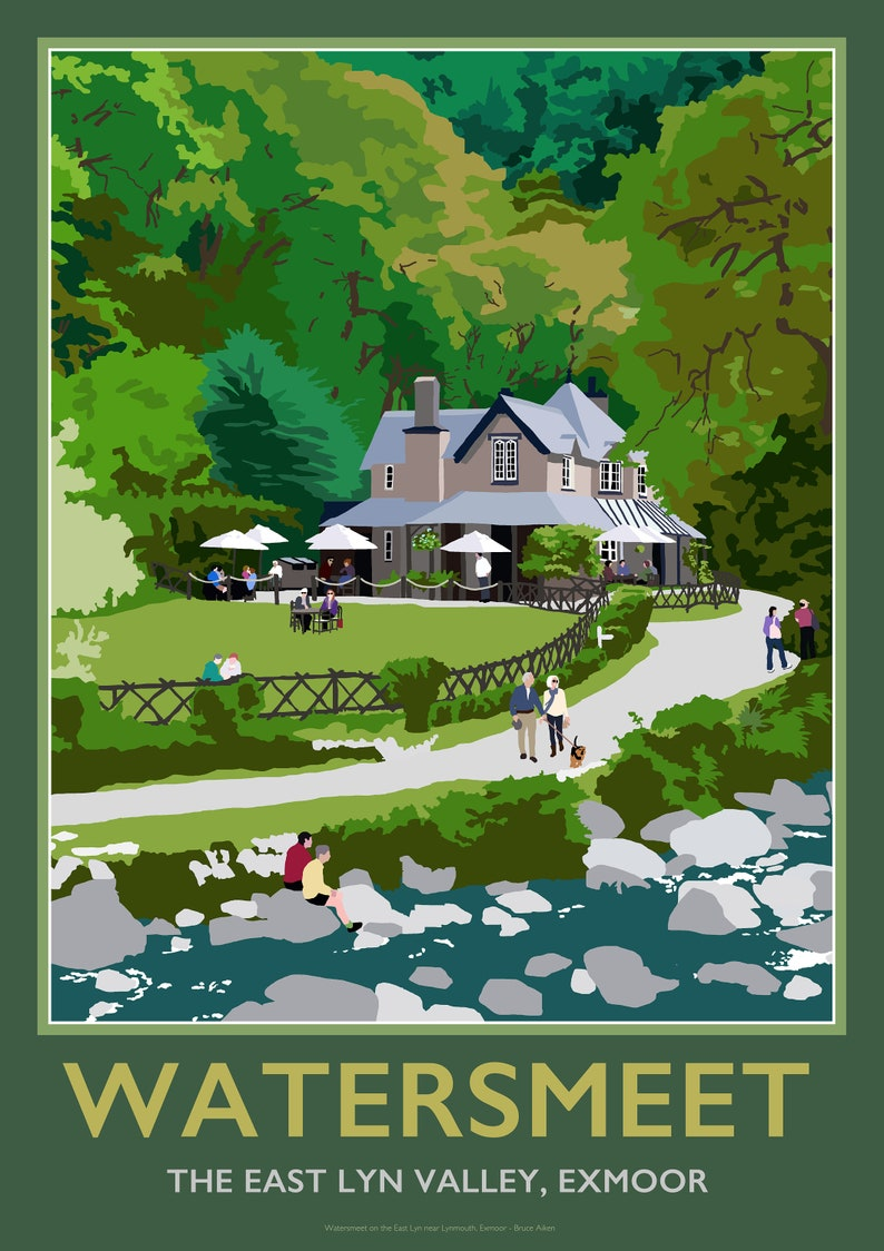 Poster of the Watersmeet House East Lyn Lynmouth image 0