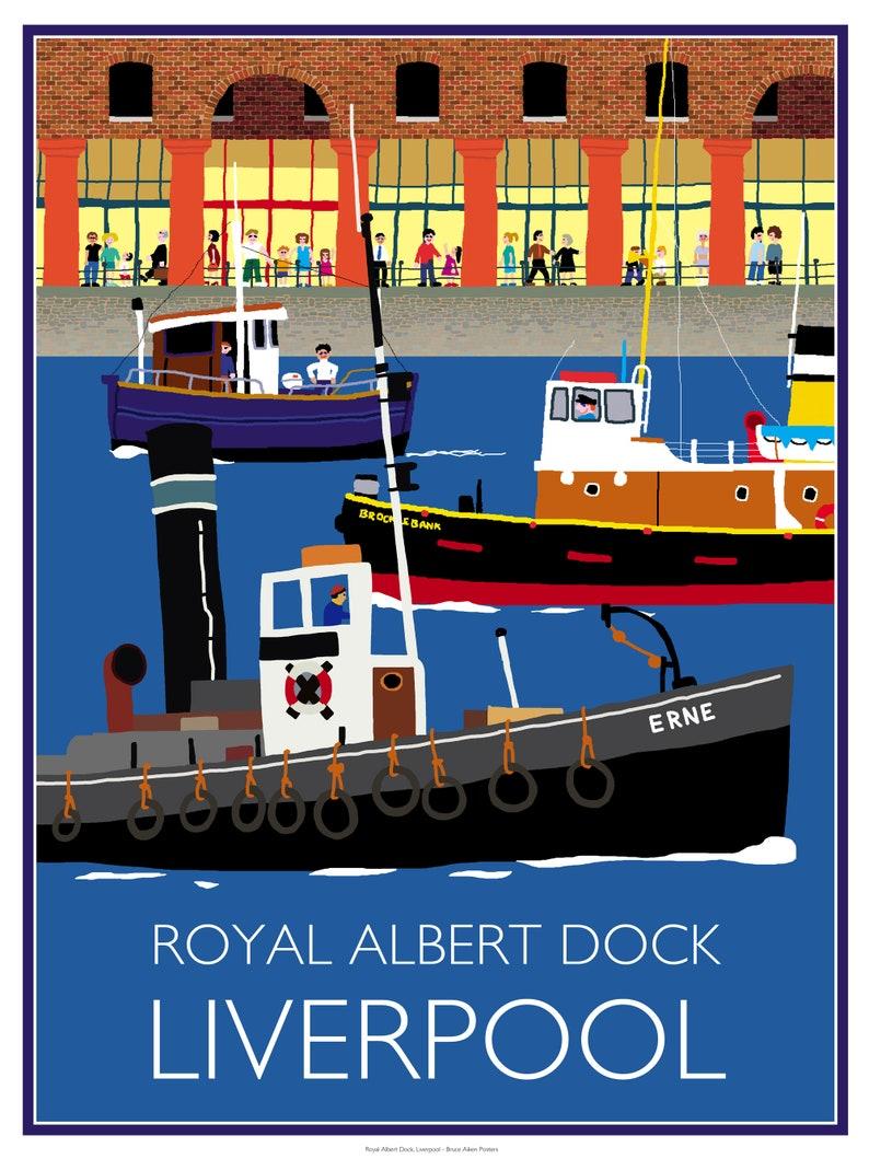 The Royal Albert Docks Liverpool Merseyside England  image 0