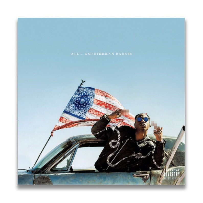 Joey Badass All-Amerikkkan Badass Music Album cover Canvas Poster Unframe